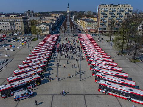 Nowe autobusy w Częstochowie
